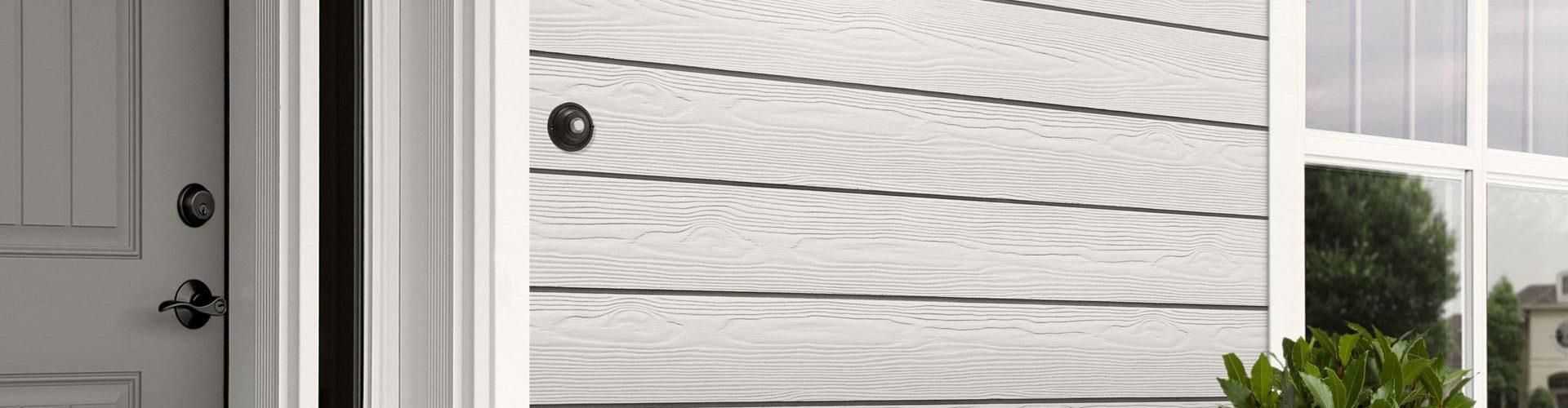 Cedral Click C01 Mineraalvalge - kiudtsement voodrilaud - puitu immiteeriv