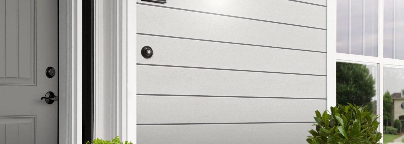 Cedral Click Smooth C01 Mineraalvalge fassaad - sile fassaadilaud - voodrilaud
