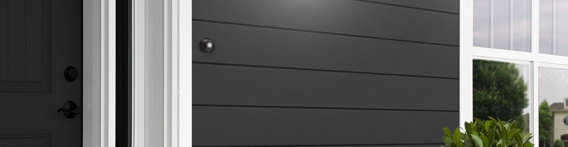 Cedral Click Smooth C50 Tume mineraal - fassaad - sile fassaadilaud - voodrilaud